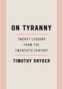 snyder-on-tyranny